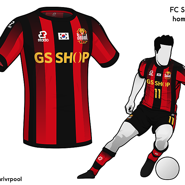 FC Seoul - Home Kit