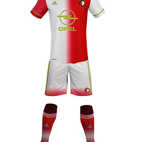 Feyenoord - Home Kit (riyan aldafa)