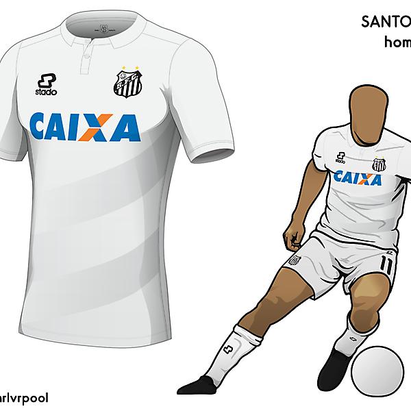 Santos FC - Home Kit