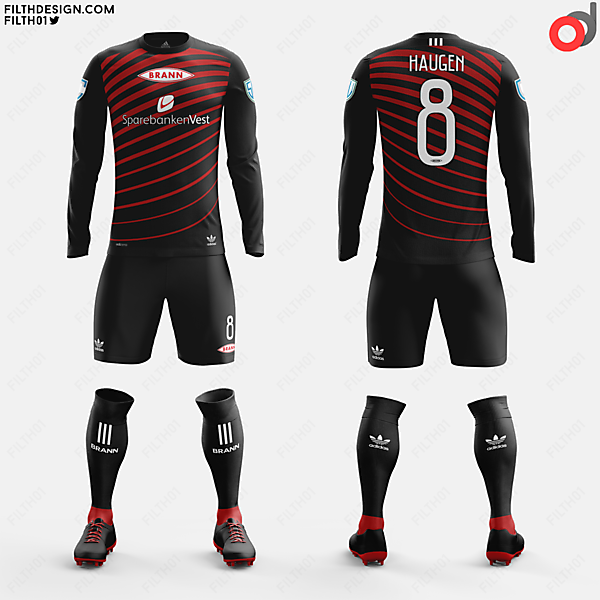 SK Brann x adidas Originals | Away Kit