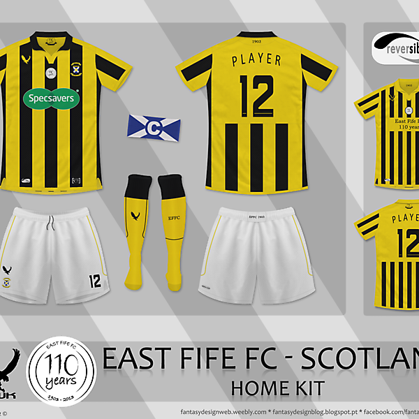 East Fife (SCO) 110th Anniversary
