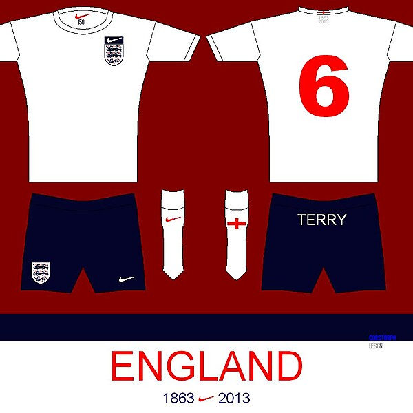 England (150th Anniversary of The FA) Nike Kit Competition (closed)