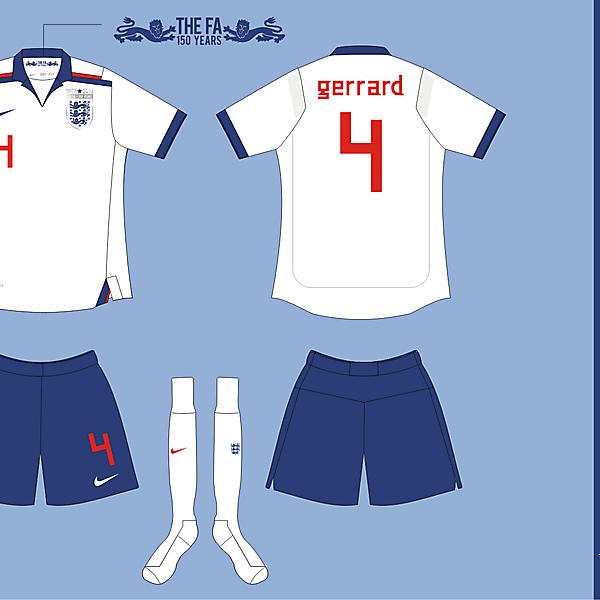 England Nike Home ver 01