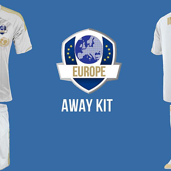 Europe Away Kit