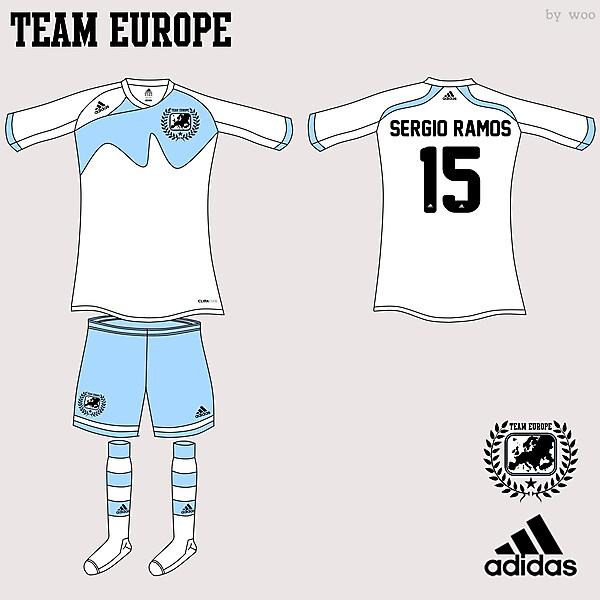 Team Europe Adidas Fantasy Home