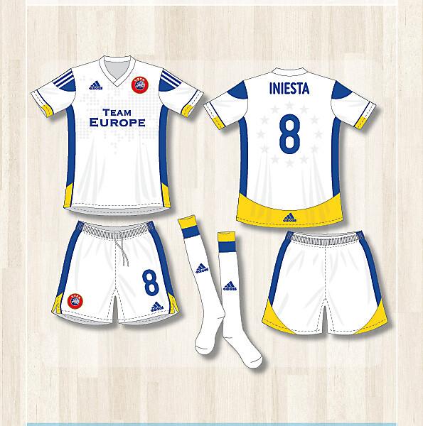 Team Europe (home- and away kit 2012)