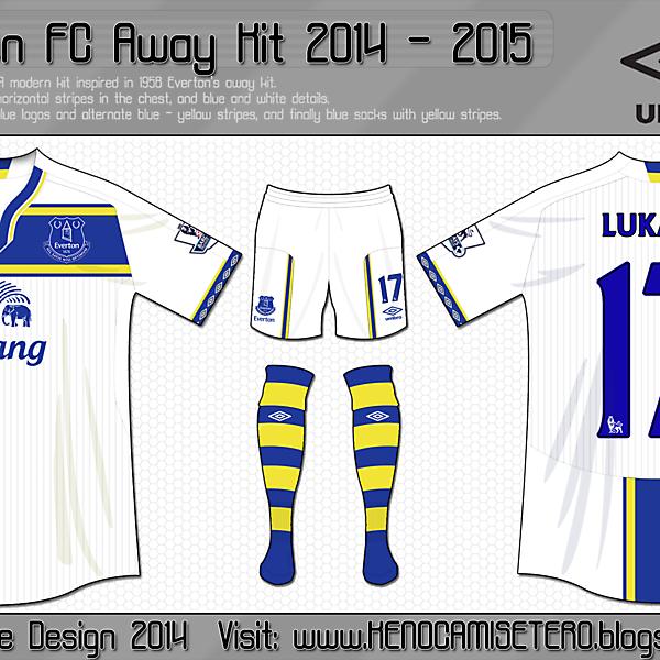 Everton Umbro Kit Design Competition (Closed)