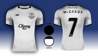 Everton F.C. Umbro Away Kit 14/15