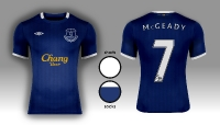 Everton F.C. Umbro Home Kit 14/15