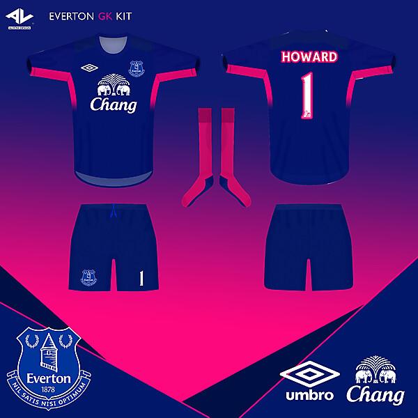 Everton GK kit 14/15
