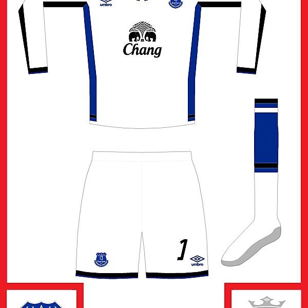 Everton GK kit