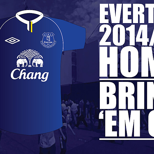 EVERTON HOME JERSEY