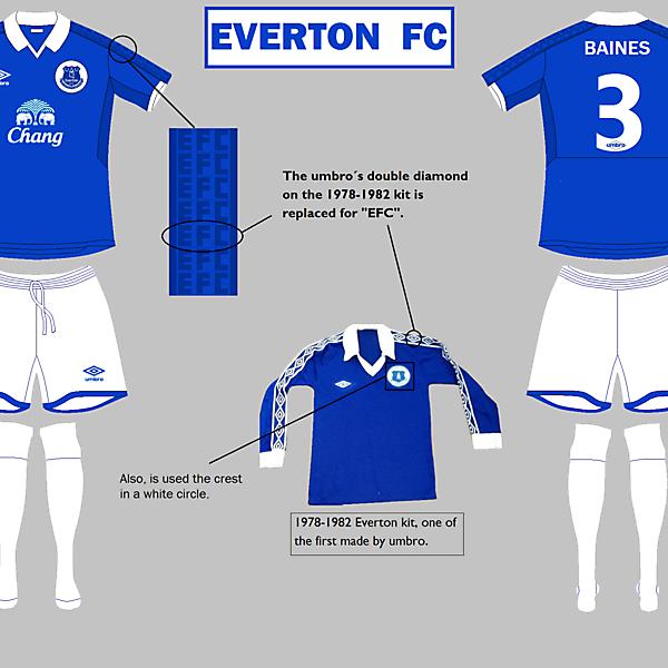 Everton Home kit