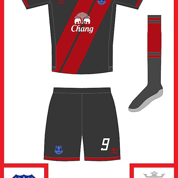 Everton third kit