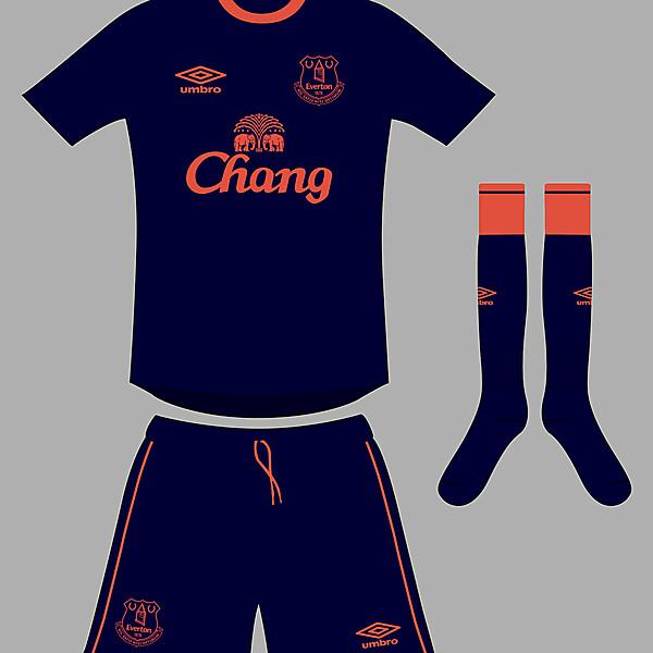 Everton third kit 2014/15