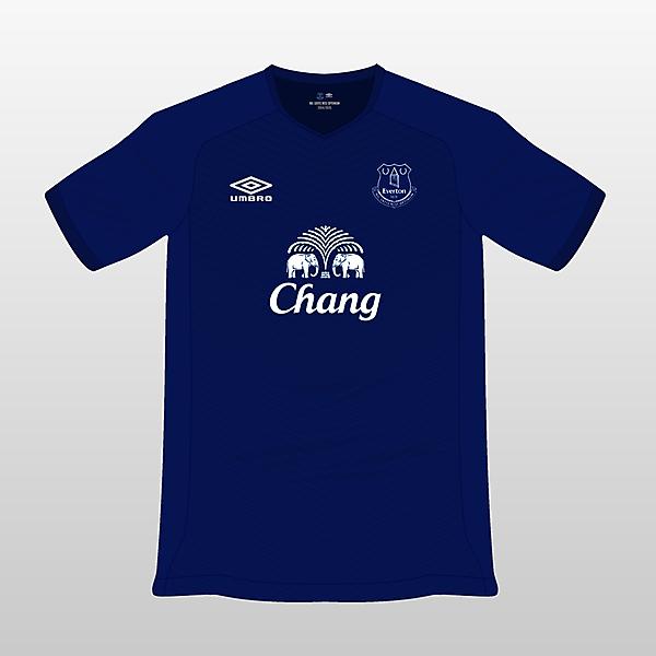 Everton Umbro Home Jersey 14/15