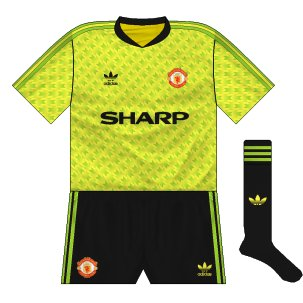 Manchester United fantasy 1990-92 away