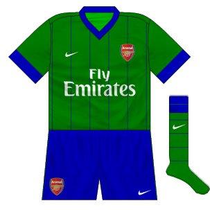 Arsenal third 2010-11