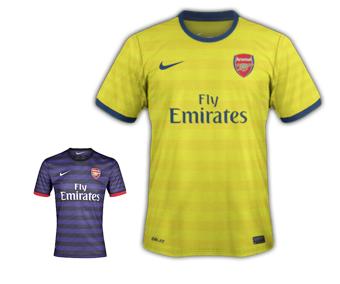Arsenal 4th Kit 2012/13
