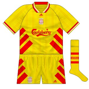 Liverpool fantasy third 1993-95