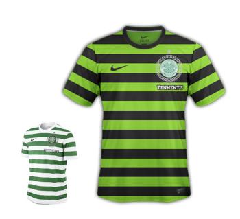 Celtic 4th Kit 2012/13