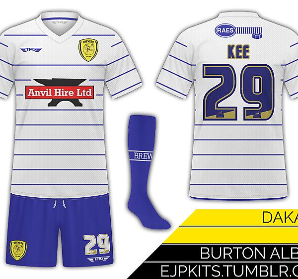 Burton Albion Away