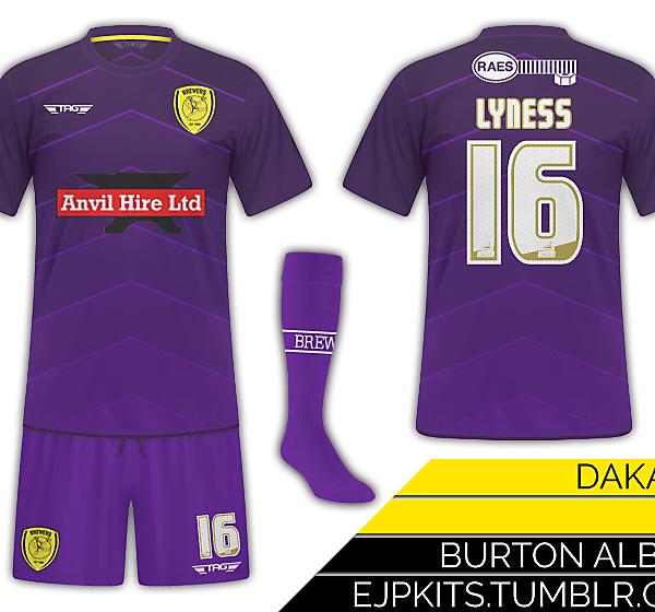 Burton Albion Goalkeeper