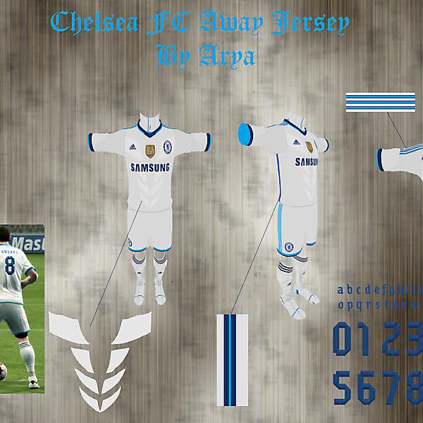 Chelsea FC away shirt