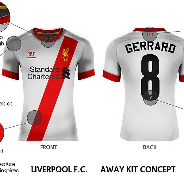 Liverpool F.C. Away Kit Concept