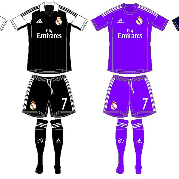 Real Madrid Kits