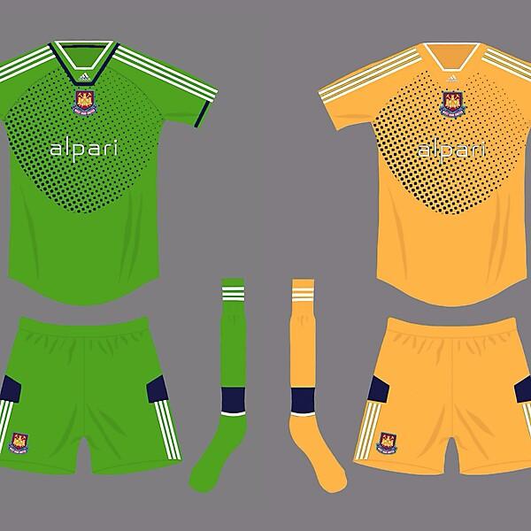 West ham goalkeepers