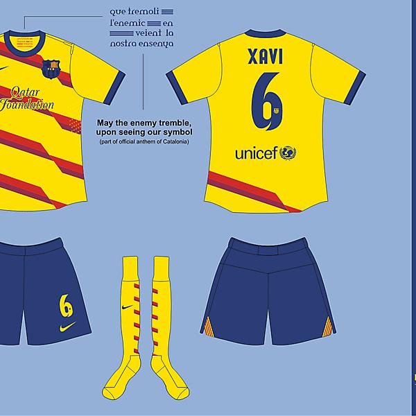 FC Barcelona Senyera kit version 01