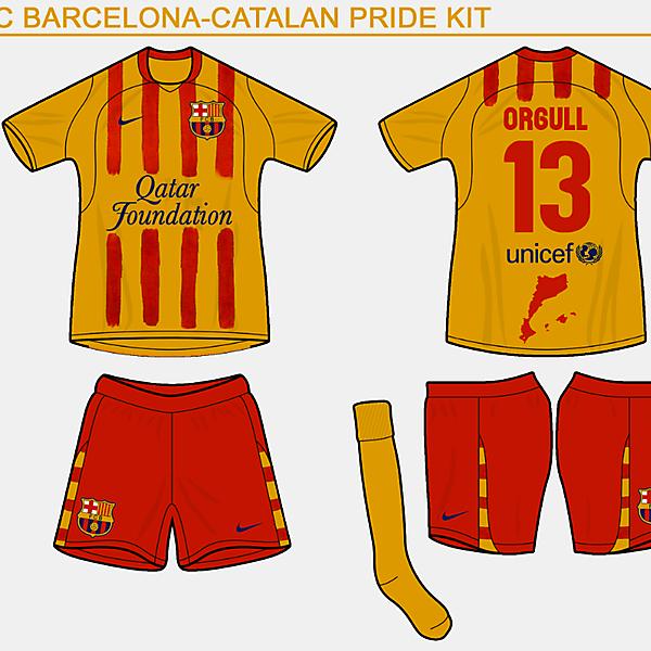 FC Barca \'orgull/pride\' kit