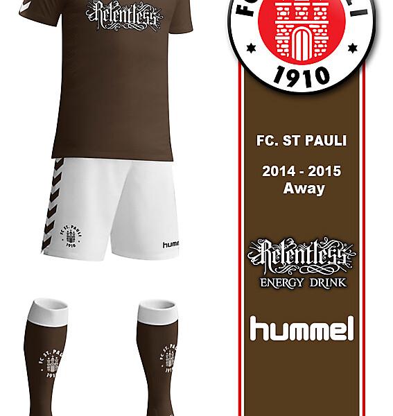 FC St. Pauli Home 2014-2015