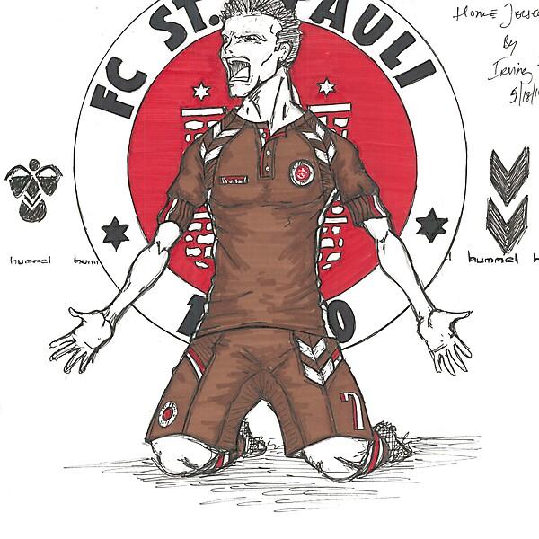 FC St. Pauli Hummel Home Concept by Irvingperceni