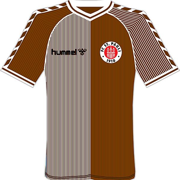 FC St Pauli Hummel Home Kit