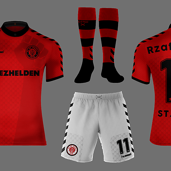 St. Pauli Away Kit - Hummel
