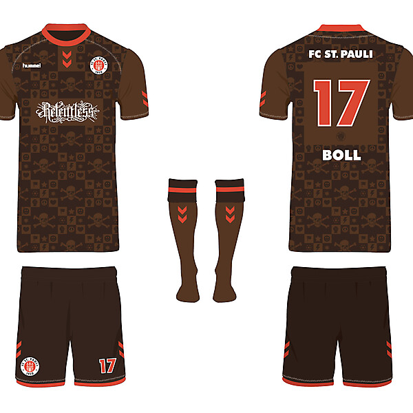 FC St. Pauli hummel Football Kit Design Competition (closed)