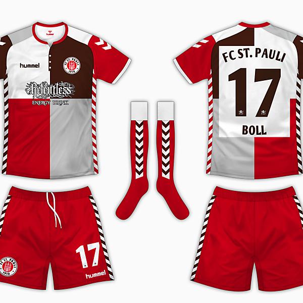 St Pauli Third Kit - Hummel