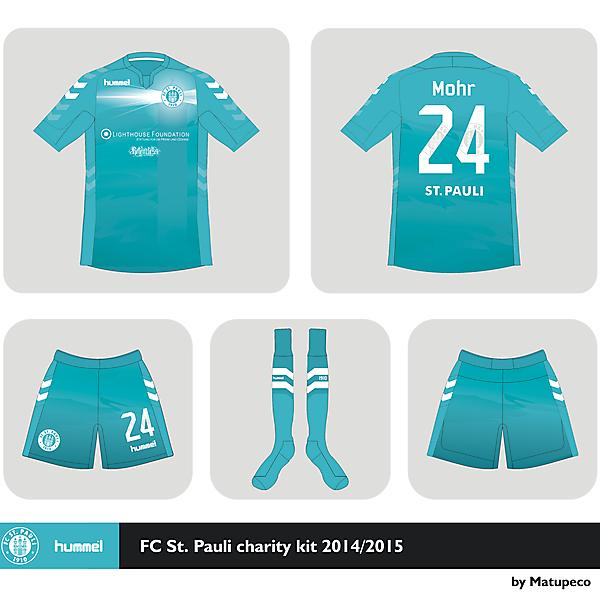 St. Pauli x Hummel charity kit  2014 2015