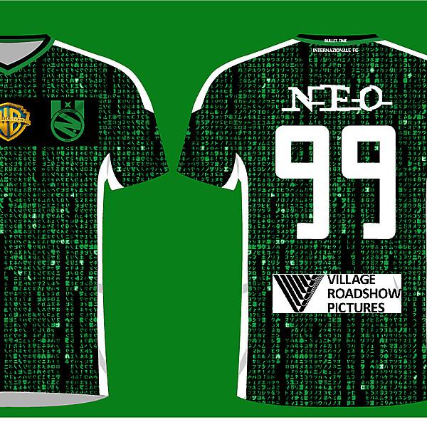 InternaZIONale FC Fantasy Jersey and Crest (The Matrix Movie)