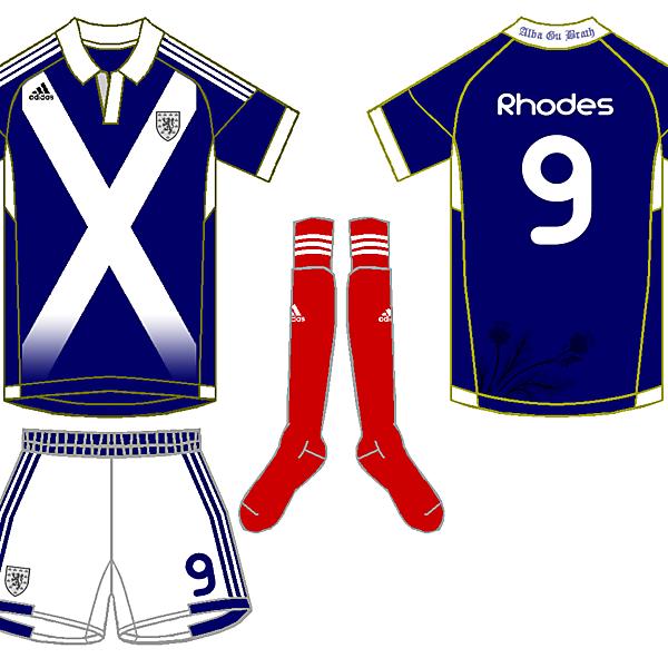 Adidas Scotland Fantasy Home - Wighty 93