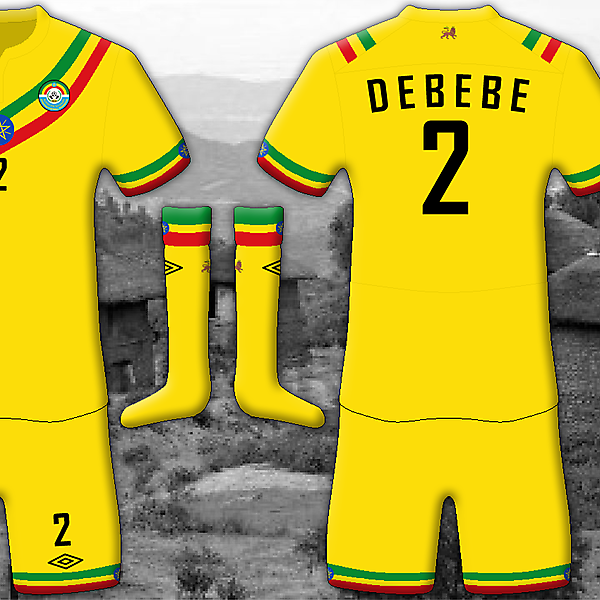 Ethiopia Home - Umbro Kit