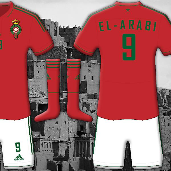 Morocco Home - Adidas Kit
