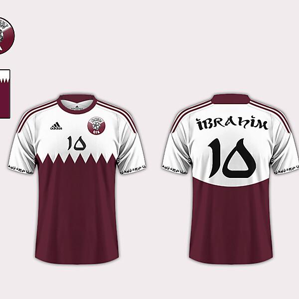 Home Kit // Qatar