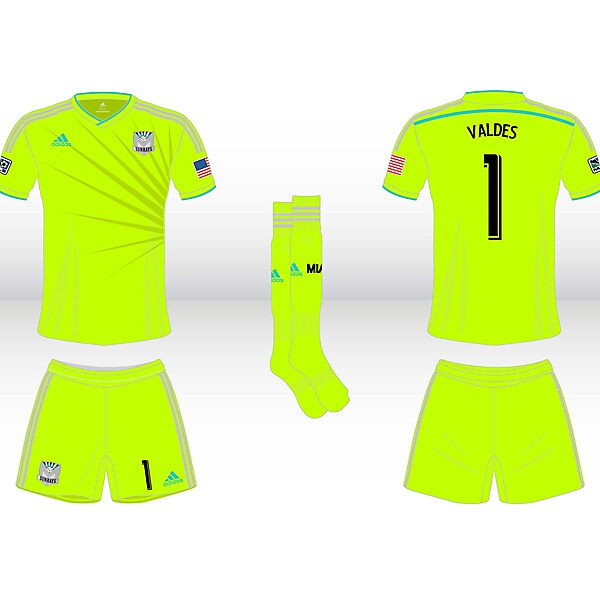 Away Goalkeeper Kit