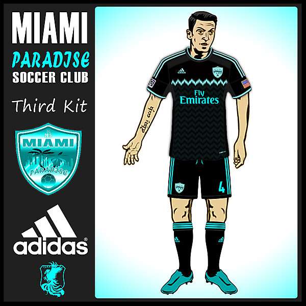MIAMI Paradise Third Kit