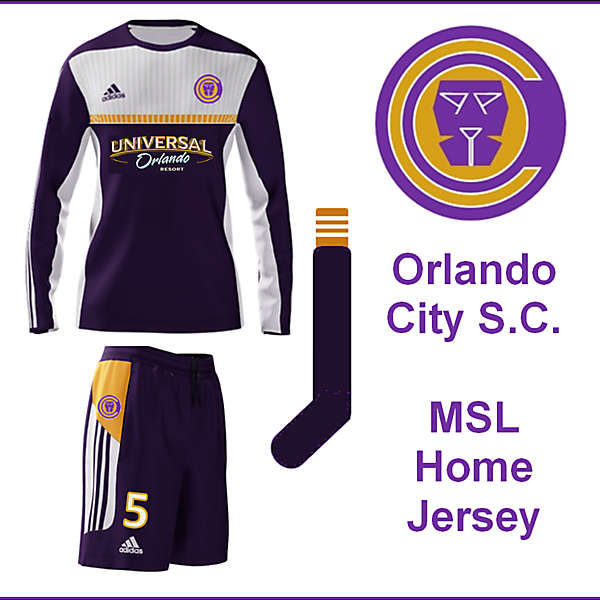 Orlando City S.C. Home Jersey