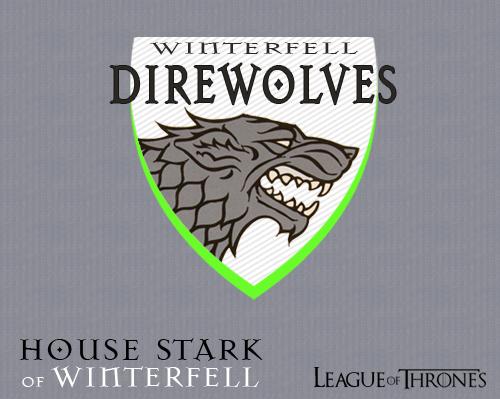 Winterfell Direwolves - Logo