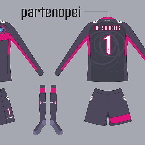 GK kit Napoli